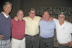 George Sehringer, Bart Bastian, George Buckland, Brock Manner and John Leuszler, DuPont.