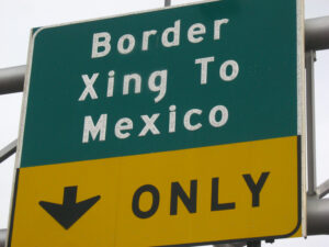 Mexico crossing