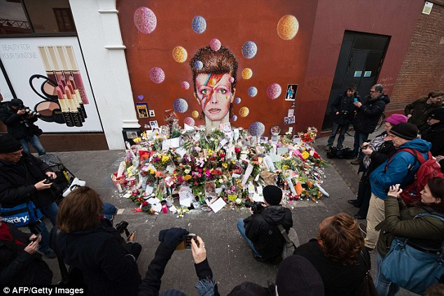 bowie shrine