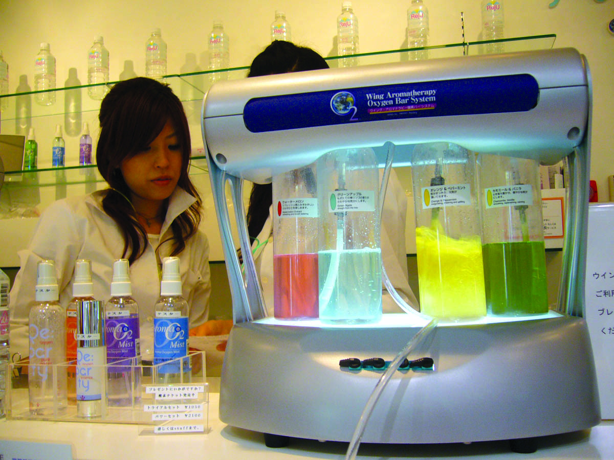 Spray Technology Marketing Short Circuit Project Reuses Unwanted Kitchen Appliances Images Oxygen Bar In Japan