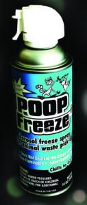 poop freezex