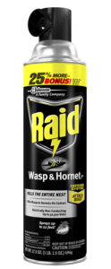 "The more a wasp and hornet spray is used, the more the can's pressure decreases and it's ""reach"" lessens."