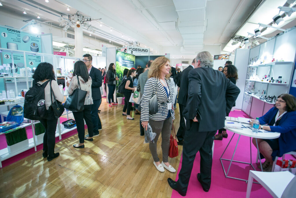 Aerosol and Dispensing Forum & Packaging of Perfume Cosmetics and Design 2017 New York. (Photo: www.JeffreyHolmes.com)